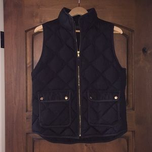 Jcrew Puffer Vest Women's Medium